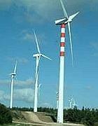 Il campo eolico di Sa Turrina Manna a Tula